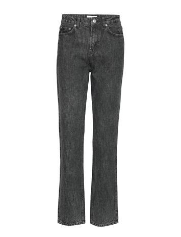 Ganni Washed Denim High-Waisted Jeans Suorat Farkut Ganni PHANTOM
