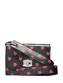Calvin Klein Sculpted Western Env Bags Small Shoulder Bags - Crossbody Bags Musta Calvin Klein BLACK W/ RED STARS