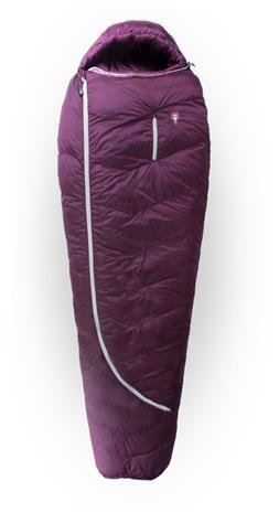 Grüezi-Bag Biopod DownWool Subzero 175 Sleeping Bag, berry