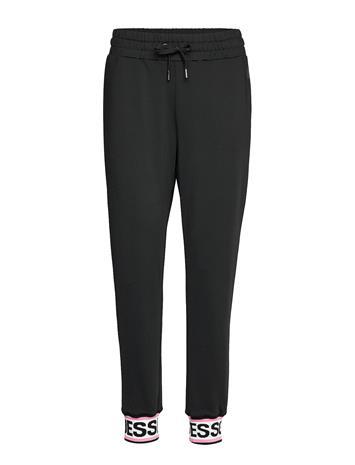 GUESS Jeans Nina Pants Collegehousut Olohousut Musta GUESS Jeans NOIR DE JAIS