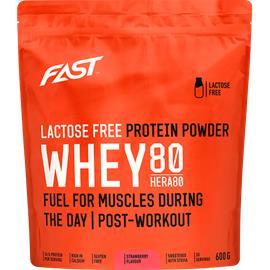 FAST Laktoositon Hera80 - proteiinijauhe, 600g