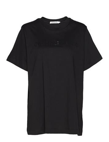 Calvin Klein Jeans Plus Institutional Logo Tee T-shirts & Tops Short-sleeved Musta Calvin Klein Jeans CK BLACK