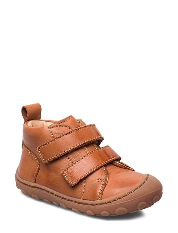 Bisgaard Bisgaard Gerle Shoes Pre Walkers Beginner Shoes 18-25 Ruskea Bisgaard COGNAC