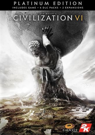 Sid Meier's Civilization VI (6) - Platinum Edition, PC-peli