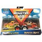 Monster Jam 1:64 2 Pack - El Toro Loco & Monster Mutt