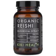 KIKI Health Organic Reishi Extract Mushroom (60 Vegicaps)