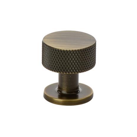 Beslag Design Beslag Design-Crest Knob 26, Antique Bronze