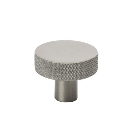 Beslag Design Beslag Design-Flat Knob 32, Stainless Steel