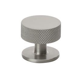 Beslag Design Beslag Design-Crest Knob 32, Stainless Steel