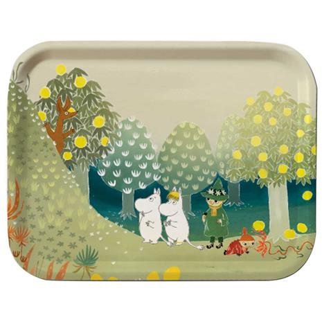 Opto Design Moomin Tray 27x20 cm, Valley Hill Bonnier