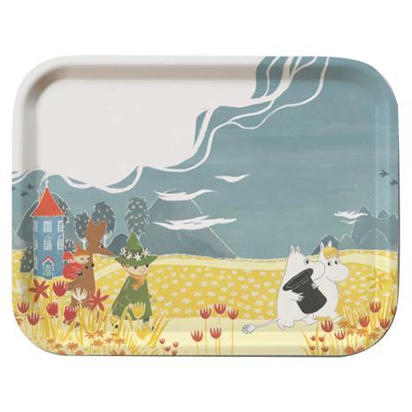 Opto Design Moomin Tray 27x20 cm, Valley Hat Bonnier