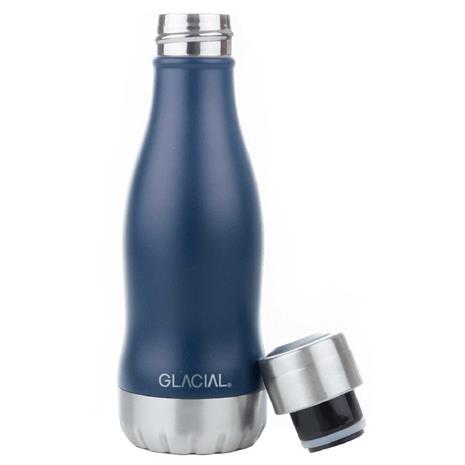 GLACIAL GLACIAL Water Bottle 26 cl, Mat Navy