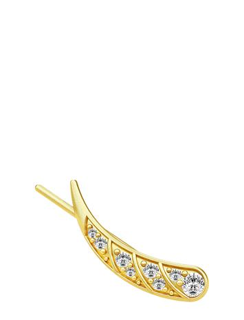 Julie Sandlau Peacock Single Earring Right / Gold Accessories Jewellery Earrings Studs Kulta Julie Sandlau GOLD