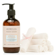 Aurelia Probiotic Skincare Miracle Cleanser and Muslin Cloths