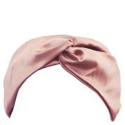 Slip Silk Twist Headband - Pink