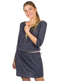 ragwear Tanya Organic Dress navy Naiset