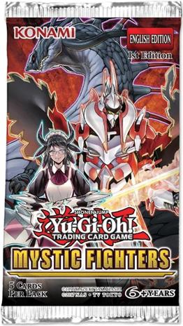 Yu-Gi-Oh! Mystic Fighters - Booster KORTTI