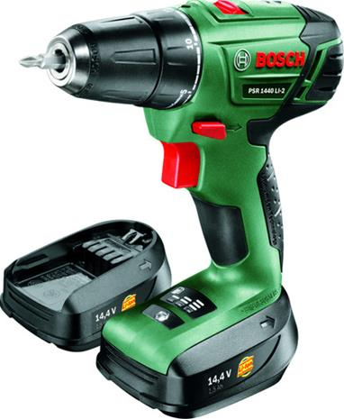 Bosch PSR 1440 Li-2 (06039A3007) 14,4V 2x2,0Ah, akkupora/-ruuvinväännin