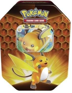 Pokemon Hidden Fates Tin Raichu-GX