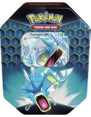 Pokemon Hidden Fates Tin Gyarados-GX