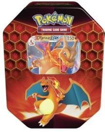 Pokemon Hidden Fates Tin Charizard-GX