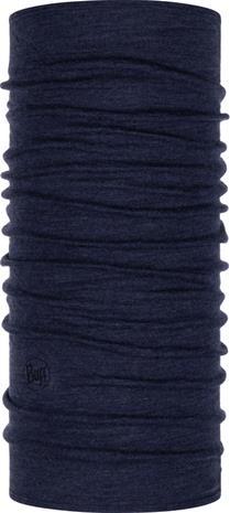 Buff Midweight Merino Wool Monikäyttöhuivi, night blue melange, Miesten hatut, huivit ja asusteet