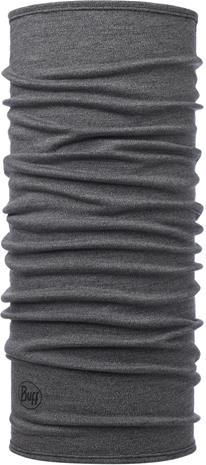 Buff Midweight Merino Wool Monikäyttöhuivi, grey melange