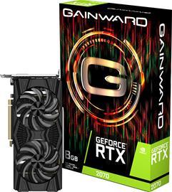 Gainward GeForce RTX 2070 TwinX 8 GB, PCI-E, näytönohjain