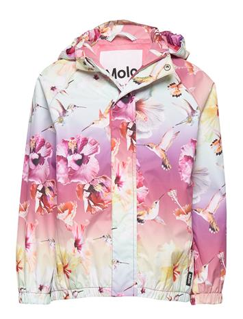 Molo Waiton Outerwear Rainwear Jackets Molo HIBISCUS RAINBOW
