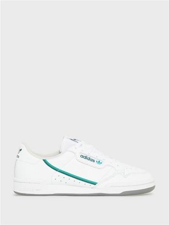 Adidas Originals Continental 80 Sneakers Valkoinen/vihreä