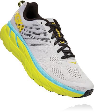 Hoka One One Clifton 6 Shoes Men, lunar rock/nimbus cloud