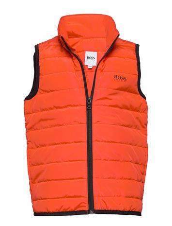 BOSS Puffer Jacket Sleeveless Toppaliivi Oranssi BOSS BRIGHT RED