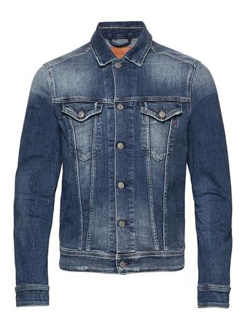 Replay Jacket Farkkutakki Denimtakki Sininen Replay MEDIUM BLUE, Miesten ulkovaatteet
