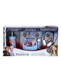 Disney Frozen 2 Light and Music Collector Set: yövalo, kannettava karaokelaite ja kuulokkeet