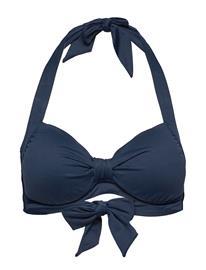 Seafolly Dd Cup Halter Bikiniyläosa Bikiniliivit Sininen Seafolly INDIGO