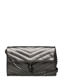 Rebecca Minkoff Edie Wallet On Chain Bags Card Holders & Wallets Wallets Harmaa Rebecca Minkoff ANTHRACITE
