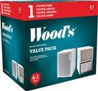 Wood's SMF-suodatin ilman kehystä 5-Pack