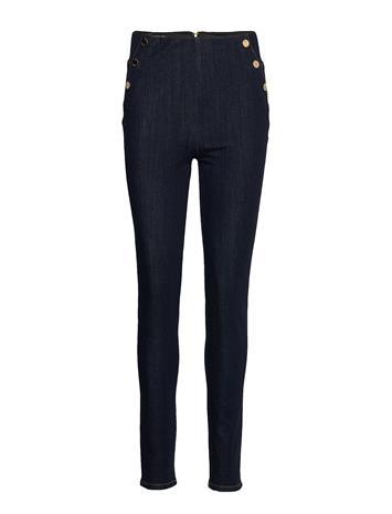 GUESS Jeans Ultra Curve High Button Skinny Farkut Sininen GUESS Jeans BE FINE