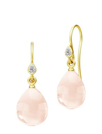 Julie Sandlau Prima Ballerina Earrings - Gold/Blush Korvakoru Korut Kulta Julie Sandlau GOLD / BLUSH
