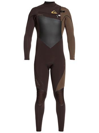 Quiksilver Highline+ 4/3 Chest Zip velvet brown / dark beech Miehet
