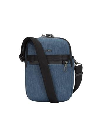 Pacsafe Metrosafe X Vertical Crossbody Bag, dark denim