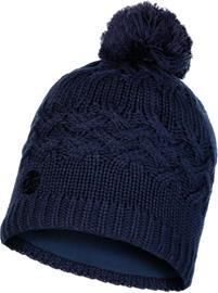 Buff Lifestyle Knitted and Polar Fleece Päähine, savva night blue