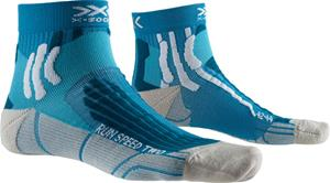 X-Socks Run Speed Two Sukat Miehet, teal blue/pearl grey