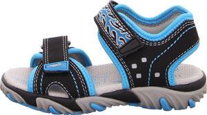 Superfit Mike2 Sandaalit, Black/Blue 35