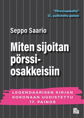 Miten sijoitan pörssiosakkeisiin (Seppo Saario), kirja
