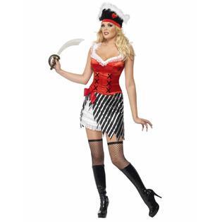 Piratkvinna Maskeraddräkt