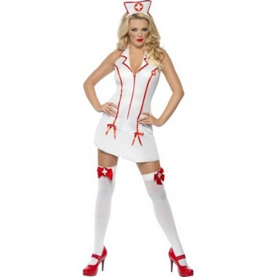 Sjuksköterska Maskeraddräkt