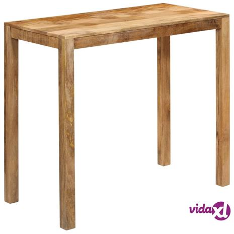 vidaXL Baaripöytä kiinteä mangopuu 120x60x108 cm