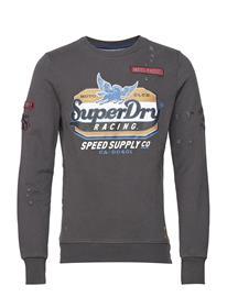 Superdry Custom 1334 Crew Harmaa