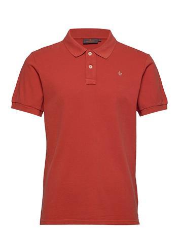 Morris New Piquä© Polos Short-sleeved Punainen Morris RED, Miesten paidat, puserot ja neuleet
